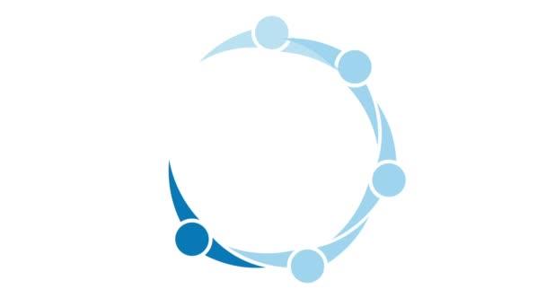 vedení lidí kruh koncept