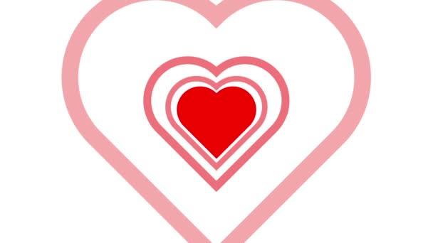Pulsing Heart Love Concept
