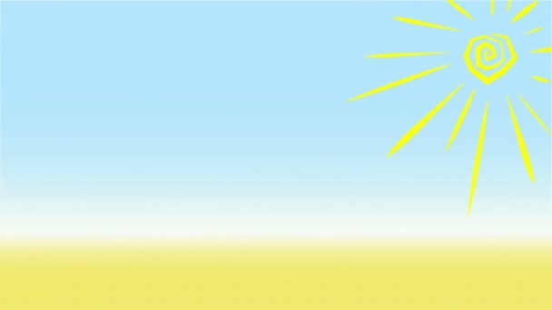 Summer Background Animation Loop
