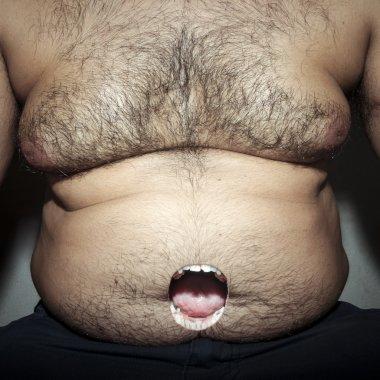 monstrous belly fat
