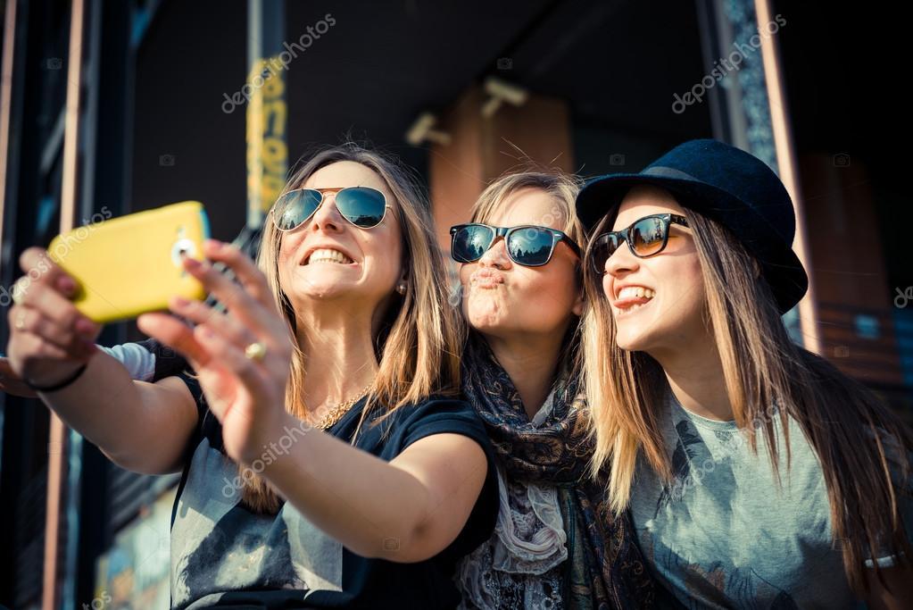 Three beautiful friends
