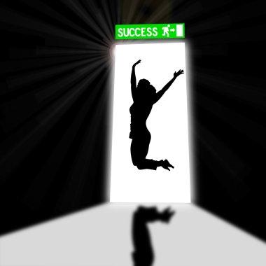 Door of success