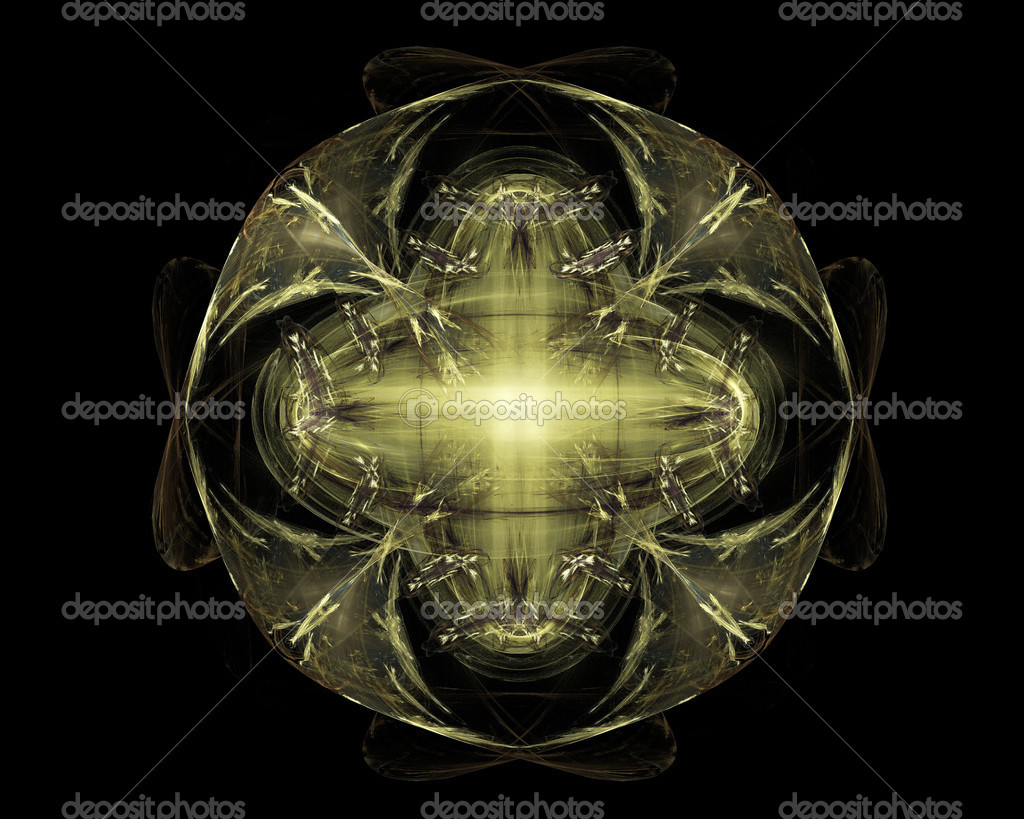 fractal abstrato arte verde física dobra objeto \u2014 stock photofractal abstrato arte verde física dobra objeto \u2014 fotografia de stock