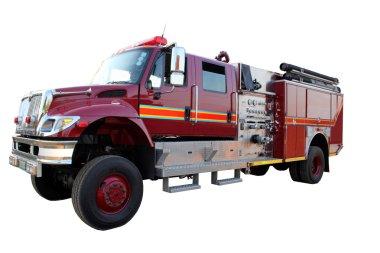 izole yangın kamyon resmi