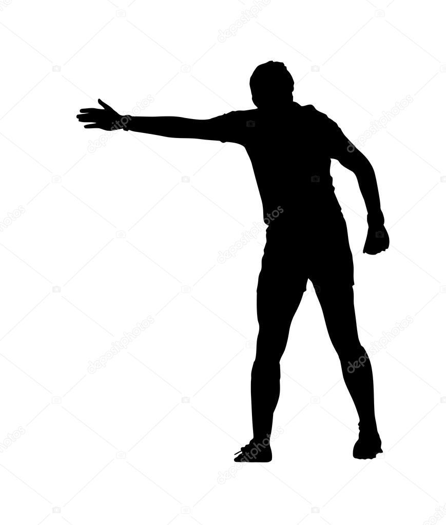 Resultado de imagem para silhueta de árbitros de futebol