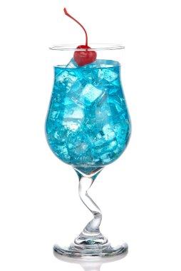 Blue Hawaiian Lagoon Cocktail