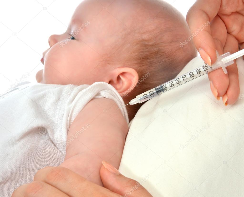 Baby spuiten