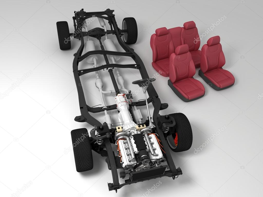 Der Fahrzeugrahmen — Stockfoto © Iurii #30178637