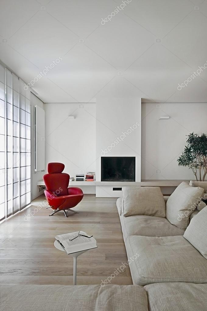 moderno salotto con camino ? foto stock © aaphotograph #12874702 - Salone Moderno Con Camino