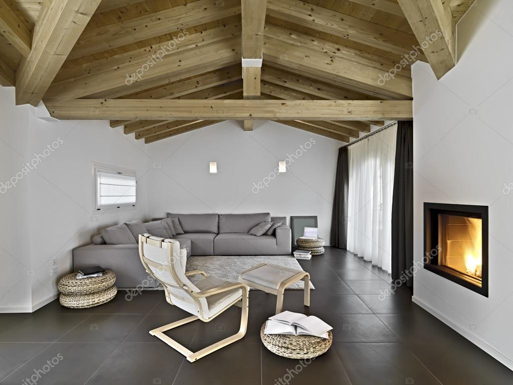moderne Wohnzimmer — Stockfoto © aaphotograph #43092227