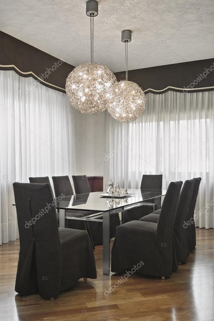 Sala da pranzo moderna foto stock aaphotograph 44115933 for Sala pranzo moderna