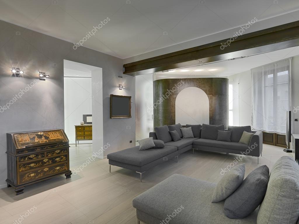 Sala De Estar Moderna Foto De Stock Aaphotograph 49749327 # Muebles Sala De Estar