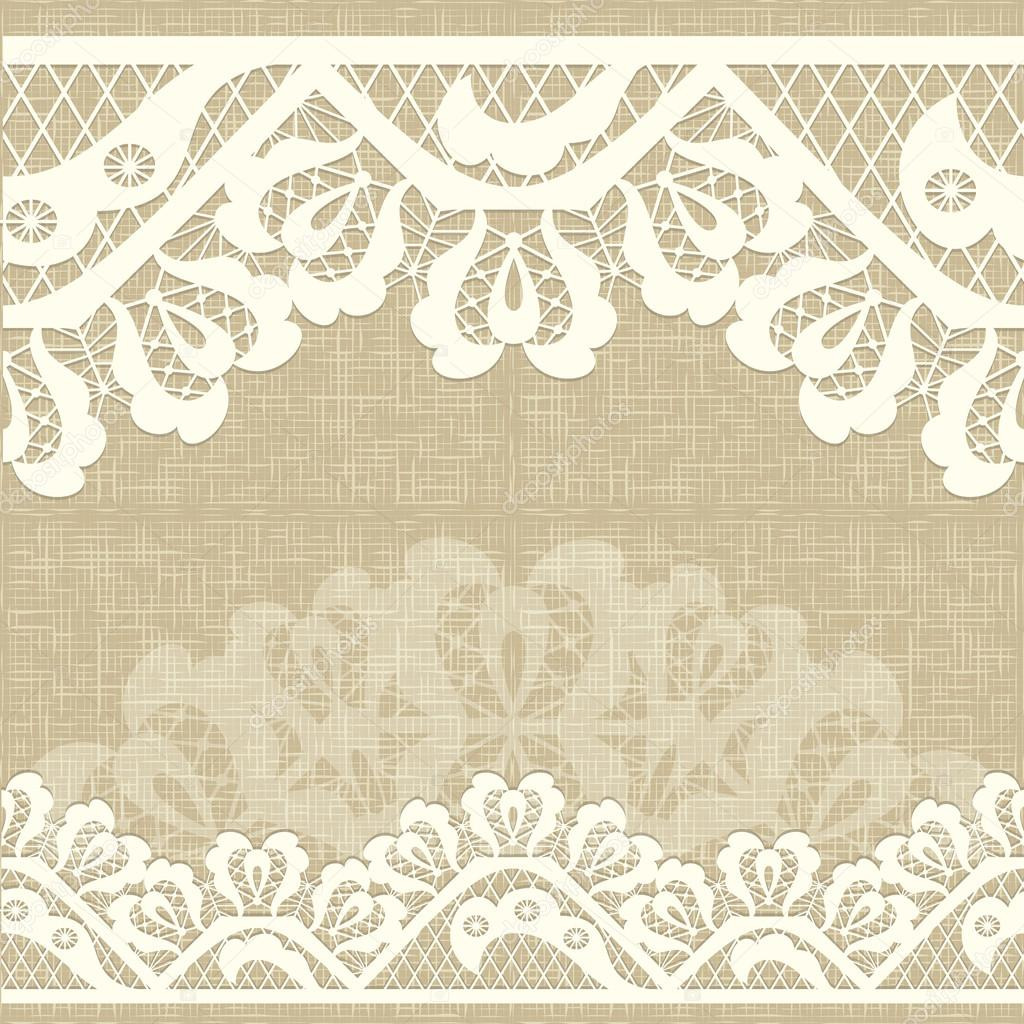 Lace Background Royalty Free Stock Illustrations