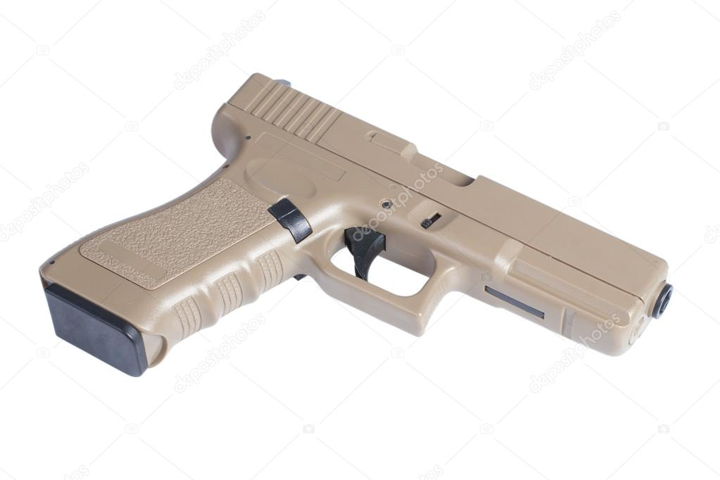 Glock automatic 9mm handgun pistol — Stock Photo © zim90