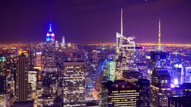 Zeitraffer in New York City