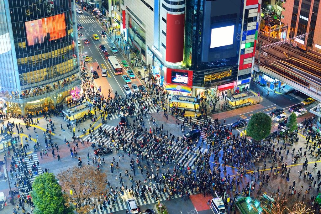 Image result for Shibuya Crossing, Tokyo