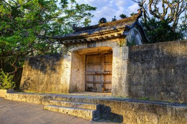 Shuri Castle Outer Wall in Okinawa