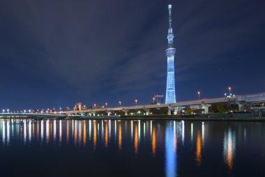 Tokyo, Japan at the Sumida River