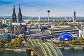Fotografie Köln skyline
