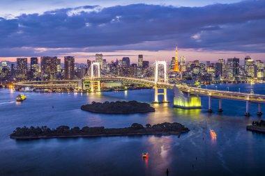 Tokyo Bay, Japan.