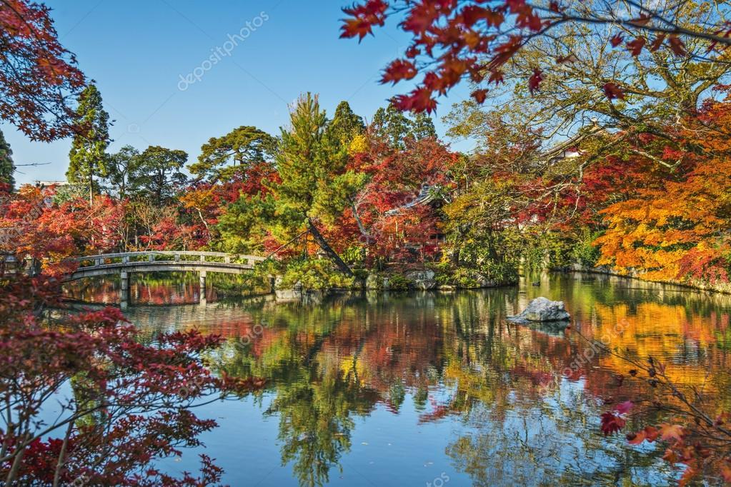 永観寺庭園で京都 — ストック写...