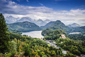 Fotografie bavorské Alpy