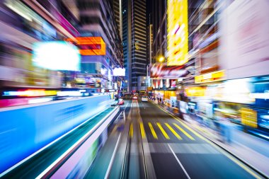 Hong Kong Motion Blur