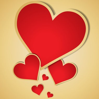 Valentine's day vector background. clip art vector