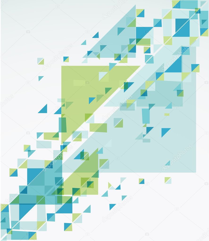 Geometric Abstract Background. Vector