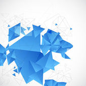 Abstract blue futuristic background