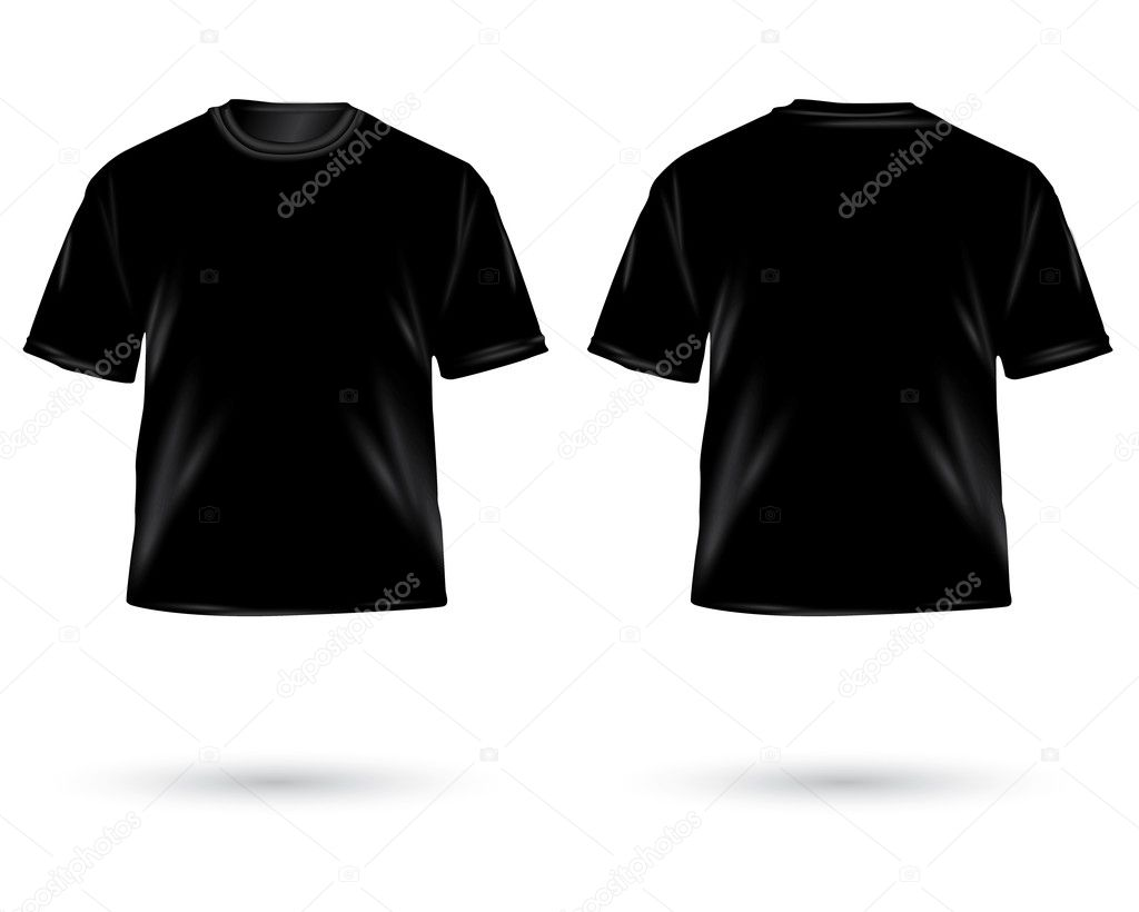 Schwarzes t shirt — Stockfoto © Kris #19130479
