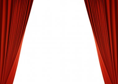 red curtain (with path