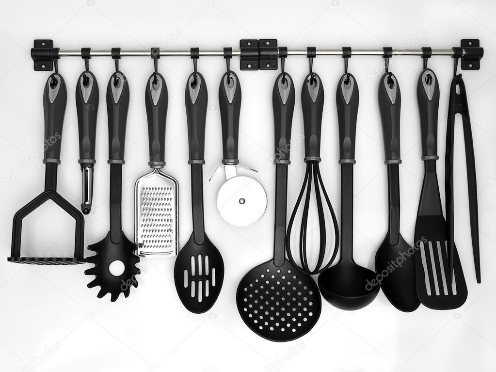 Utensilios de cocina fotos de stock shotsstudio 15824587 for Utensilios de cocina fondo