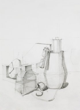 artistic study of objects