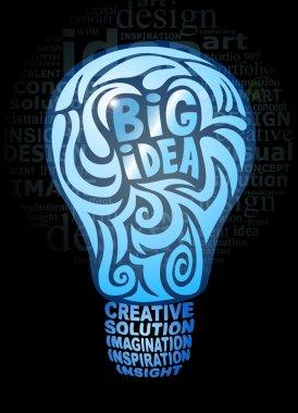 Big idea light bulb