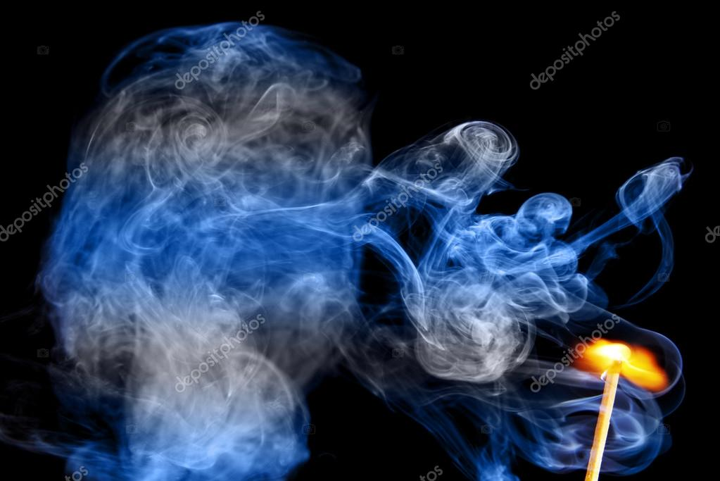 Fire and smoke color