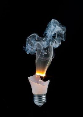 Light bulb burns out