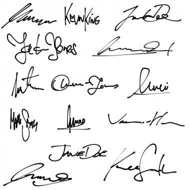 Business signatures