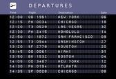 Fényképek repülőtéri menetrend