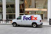 FedEx vůz