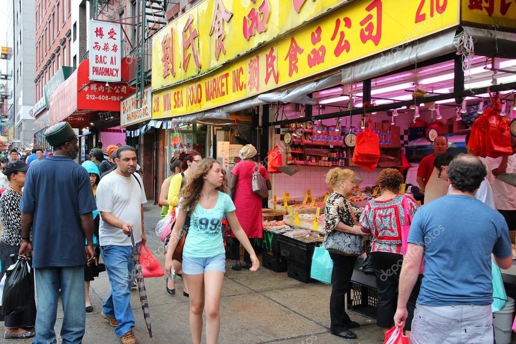 New York City Chinatown Stock Editorial Photo C Tupungato 29946301