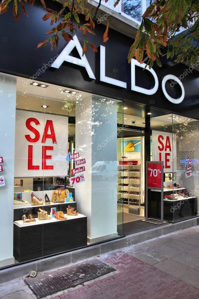 the best attitude e4e96 cf74e Aldo shoes — Foto Editoriale Stock © tupungato #30207997