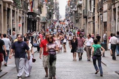 Şehir hayatı Barcelona
