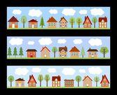 kreslené město