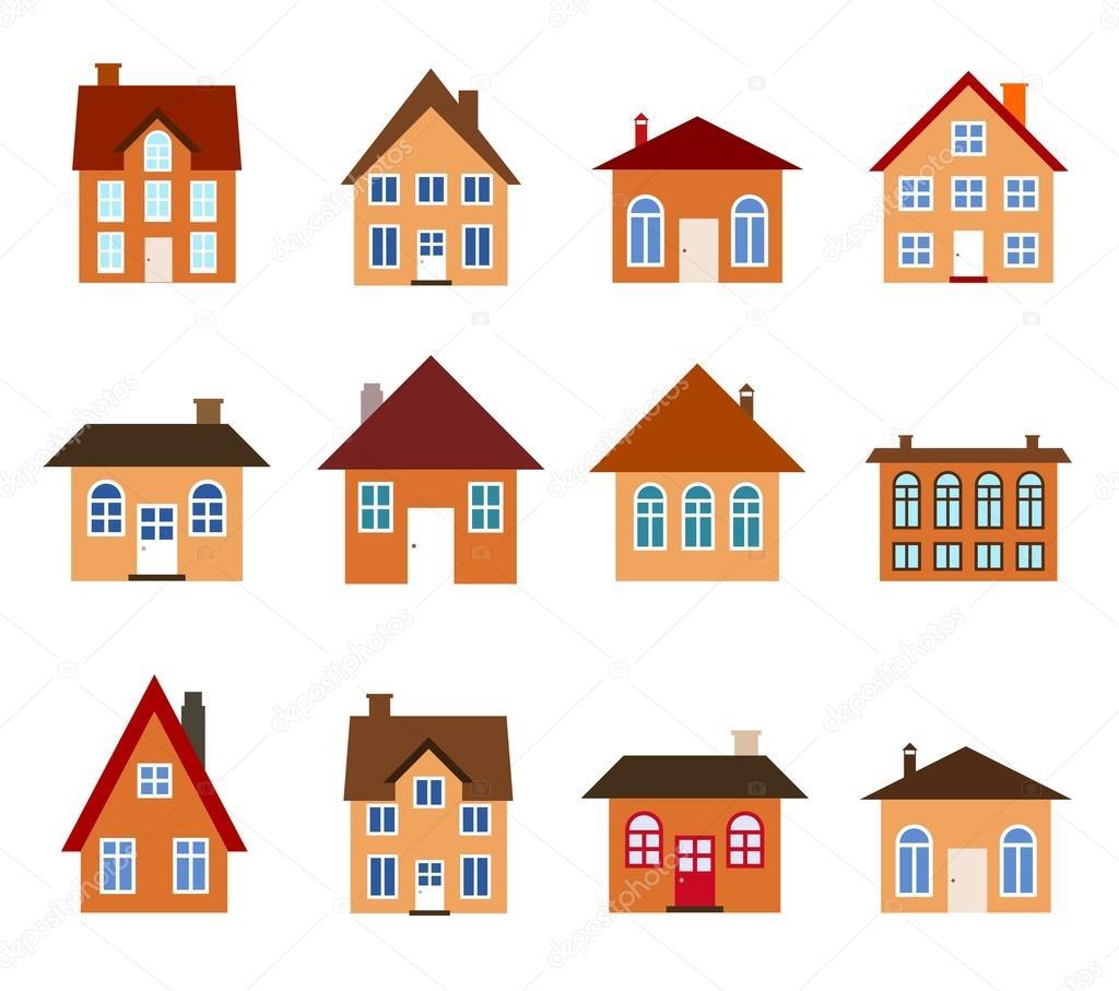 casas de desenhos animados vetor de stock tupungato 34211123