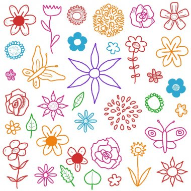 "Картина, постер, плакат, фотообои ""flower background"", артикул 35062147"