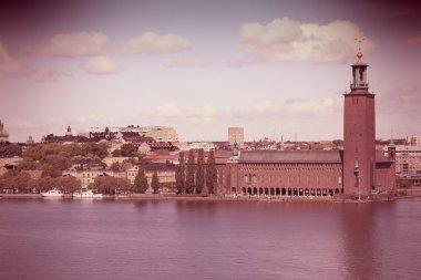 """Картина, постер, плакат, фотообои """"Стокгольм, Швеция"""", артикул 48136667"""
