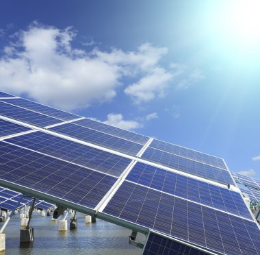 Industrial photovoltaic installation