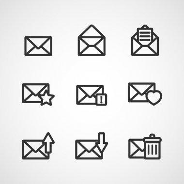 Message icons