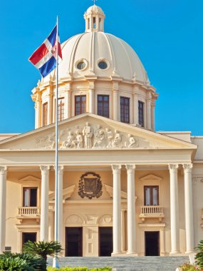 The National Palace in Santo Domingo houses the offices of the E